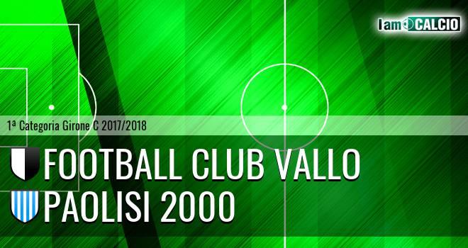 Football Club Vallo - Paolisi 2000