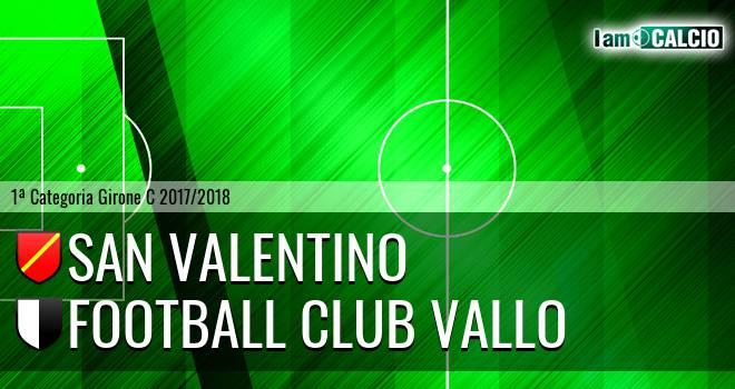 San Valentino - Football Club Vallo