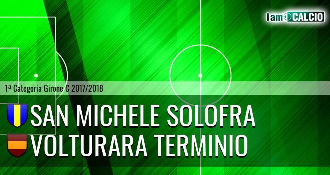 San Michele Solofra - Volturara Terminio