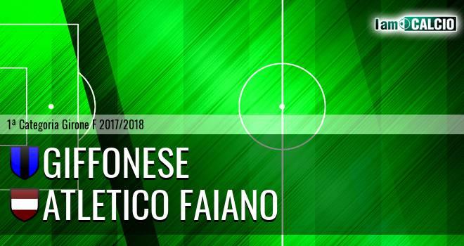 Giffonese - Atletico Faiano