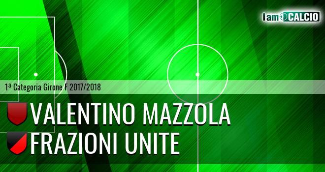 Valentino Mazzola - Frazioni Unite