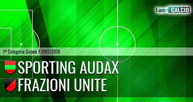 Sporting Audax - Frazioni Unite