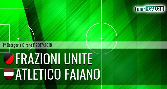 Frazioni Unite - Atletico Faiano