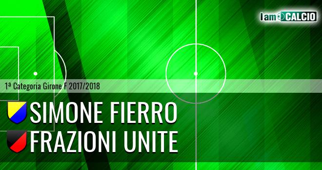Simone Fierro - Frazioni Unite