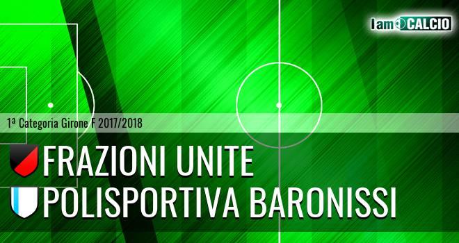 Frazioni Unite - Polisportiva Baronissi