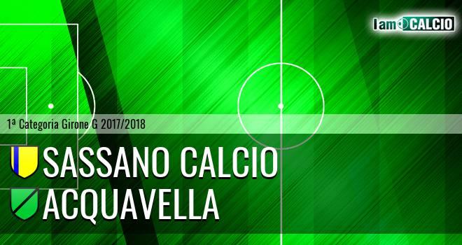 Sassano Calcio - Acquavella