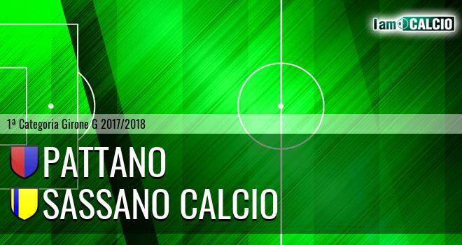Pattano - Sassano Calcio