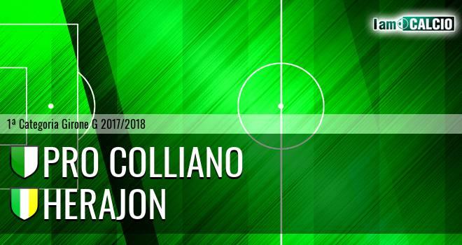 Pro Colliano - Herajon 1956