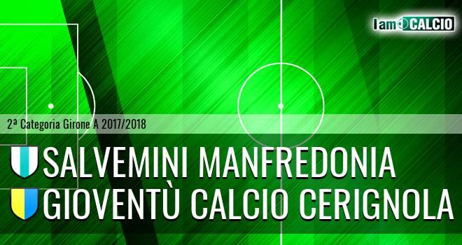 Salvemini Manfredonia - Gioventù Calcio Cerignola