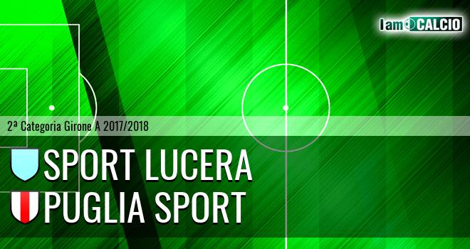 Sport Lucera - Puglia Sport