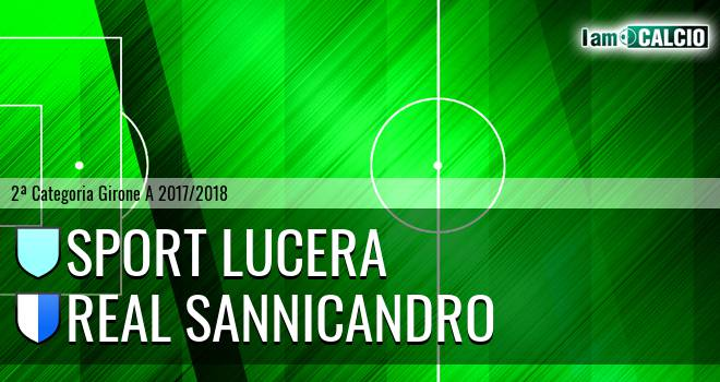 Sport Lucera - Real Sannicandro