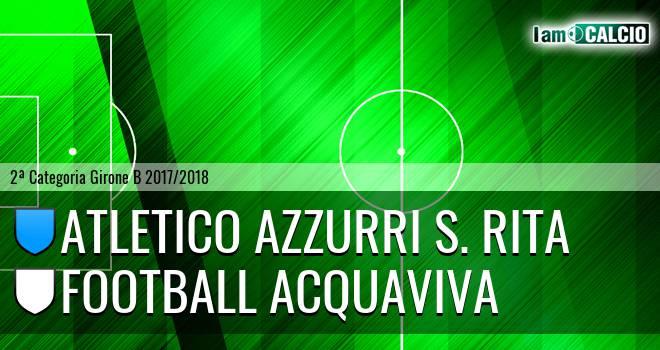 Atletico Azzurri S. Rita - Football Acquaviva