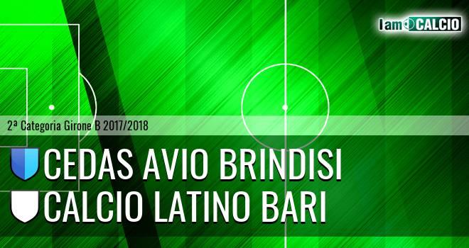 Cedas Avio Brindisi - Calcio Latino Bari