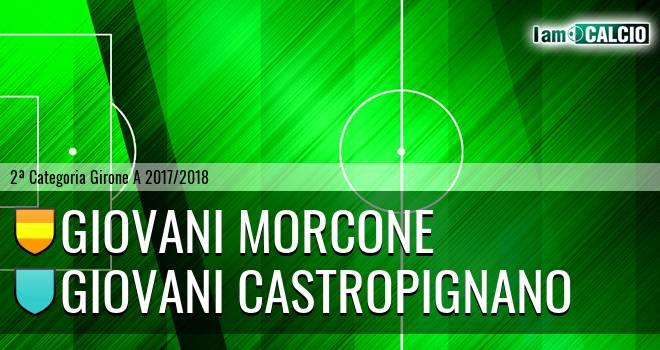 Giovani Morcone - Giovani Castropignano