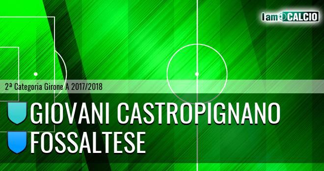 Giovani Castropignano - Fossaltese