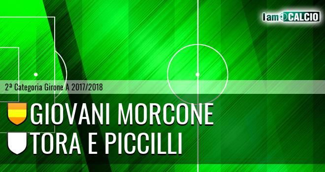 Giovani Morcone - Tora e Piccilli
