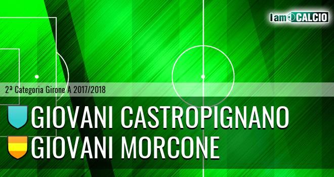 Giovani Castropignano - Giovani Morcone