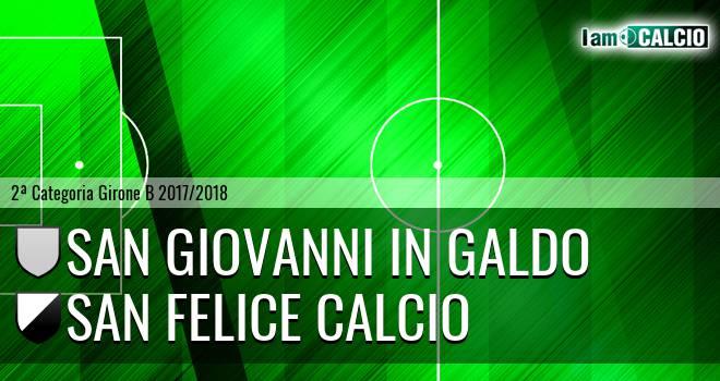 San Giovanni in Galdo - San Felice Calcio