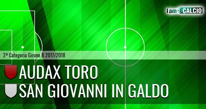 Audax Toro - San Giovanni in Galdo