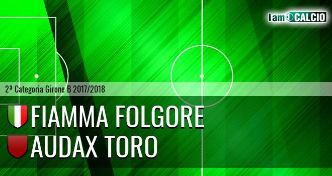 Fiamma Folgore - Audax Toro