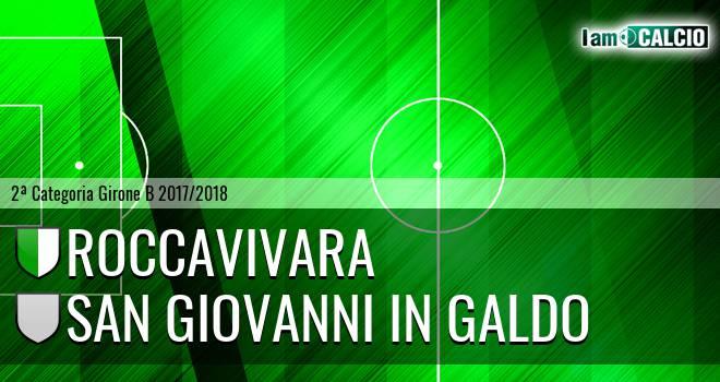 Roccavivara - San Giovanni in Galdo