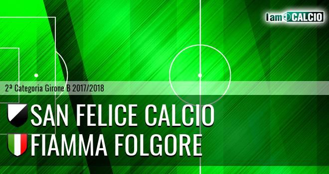 San Felice Calcio - Fiamma Folgore