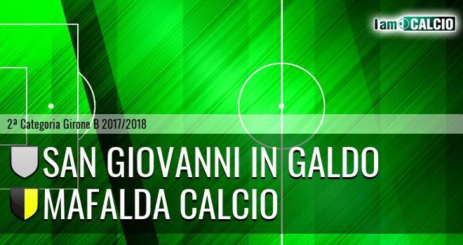 San Giovanni in Galdo - Mafalda Calcio