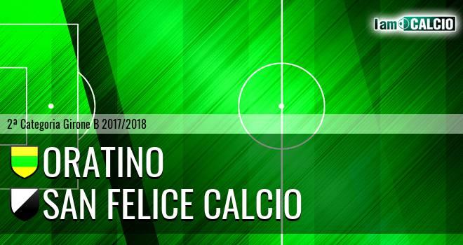 Oratino - San Felice Calcio