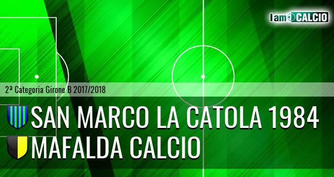 San Marco la Catola 1984 - Mafalda Calcio
