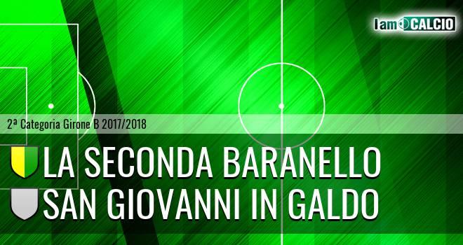 La Seconda Baranello - San Giovanni in Galdo