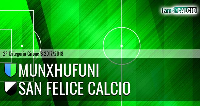 Munxhufuni - San Felice Calcio