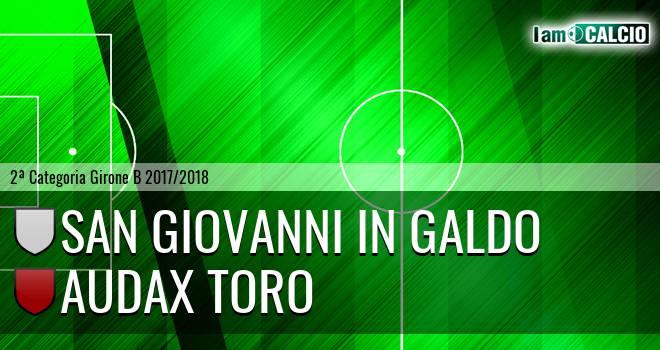 San Giovanni in Galdo - Audax Toro