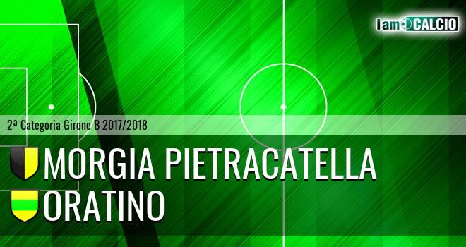 Morgia Pietracatella - Oratino