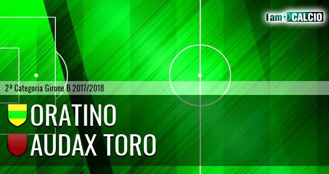 Oratino - Audax Toro