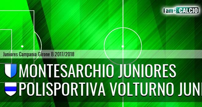 Montesarchio Juniores - Polisportiva Volturno Juniores