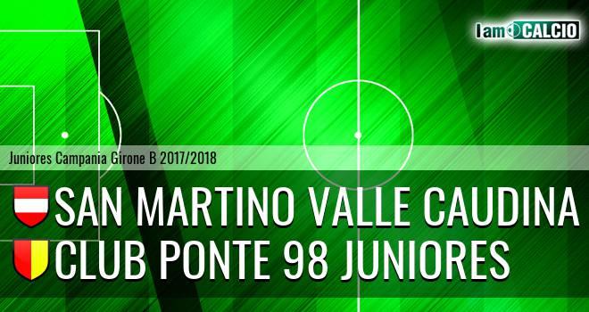 San Martino Valle Caudina Juniores - Ponte '98 Juniores