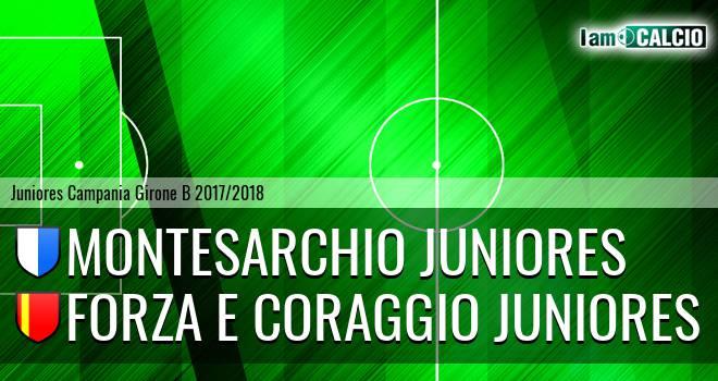 Montesarchio Juniores - Forza e Coraggio Juniores