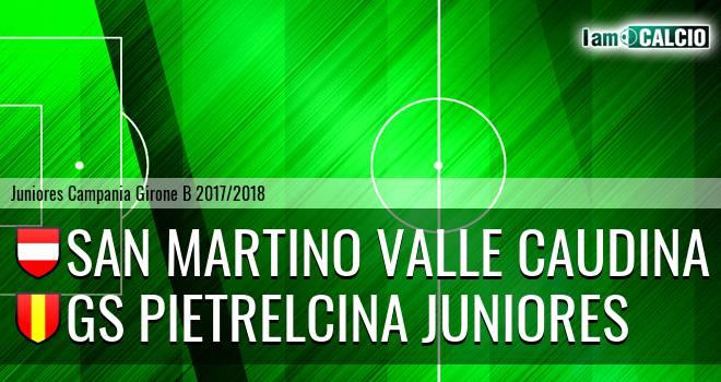 San Martino Valle Caudina Juniores - GS Pietrelcina Juniores