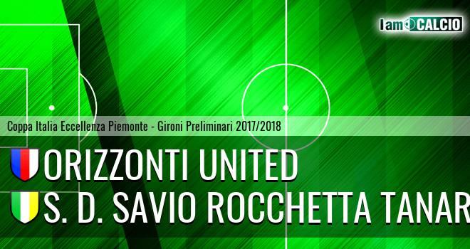 Orizzonti United - S. D. Savio Rocchetta Tanaro