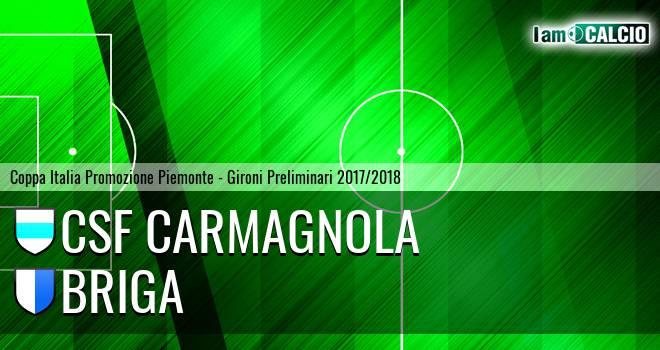 Csf Carmagnola - Briga