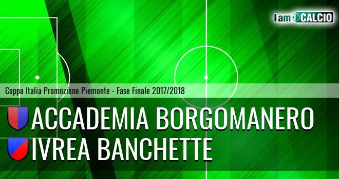 Accademia Borgomanero - Ivrea Banchette