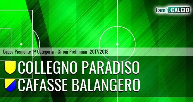 Collegno Paradiso - Cafasse Balangero