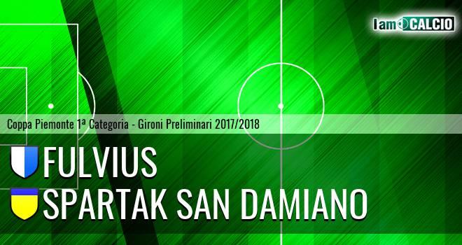 Fulvius - Spartak San Damiano