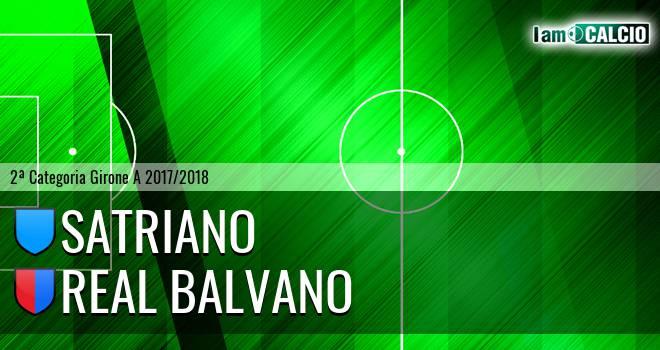 Satriano - Real Balvano