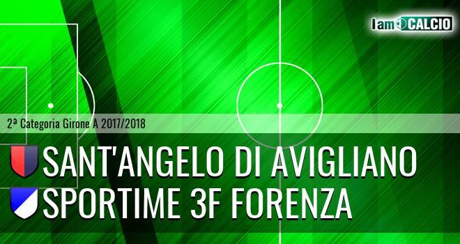 Sant'Angelo di Avigliano - Sportime 3F Forenza