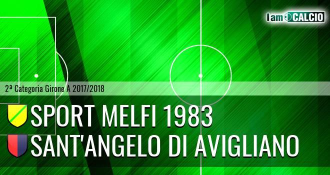 Sport Melfi 1983 - Sant'Angelo di Avigliano