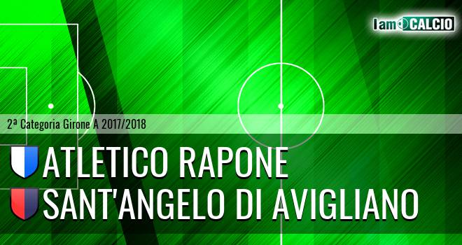 Atletico Rapone - Sant'Angelo di Avigliano