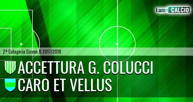 Accettura G. Colucci - Caro et Vellus