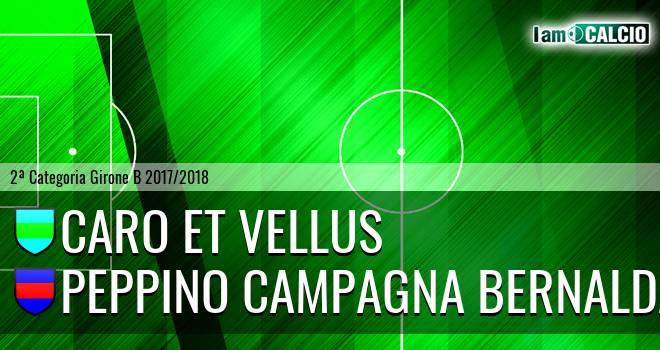 Caro et Vellus - Peppino Campagna Bernalda
