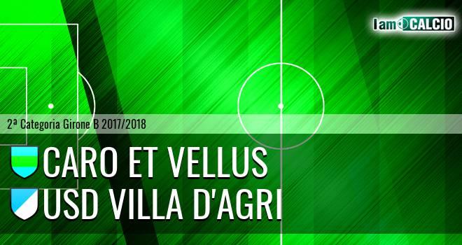 Caro et Vellus - Usd Villa d'Agri